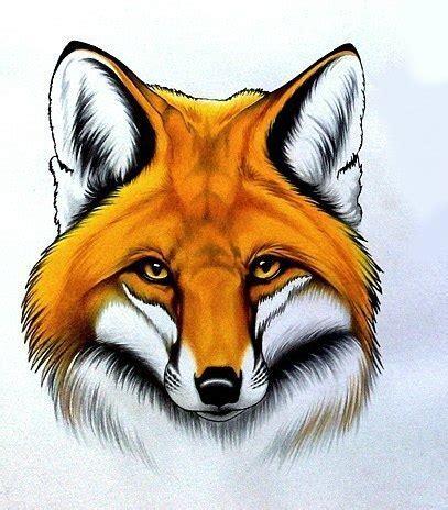 fox head tattoo fox idea best designs