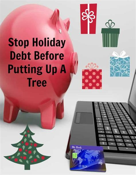 stop and shopchristmas trees stop debt before putting up a tree the joyous family