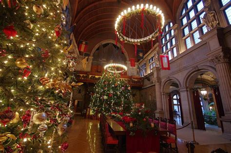 christmas trees decorated with scratch tickets 2014 biltmore candlelight upgrades and discounted tickets