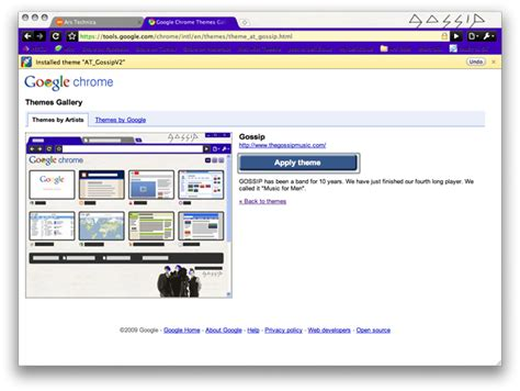 theme google chrome apple chara