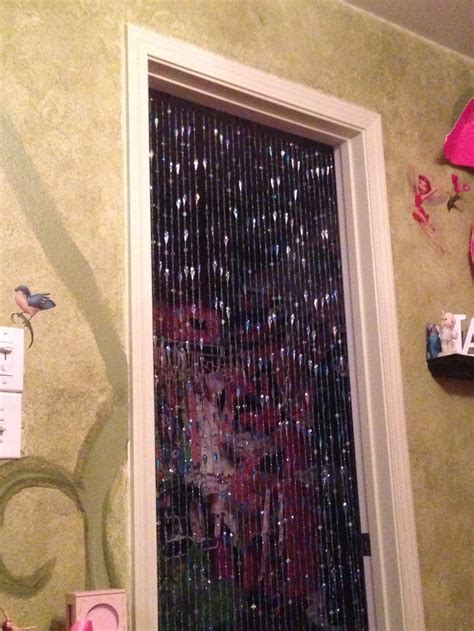 Bead Curtain As Closet Door For Room My