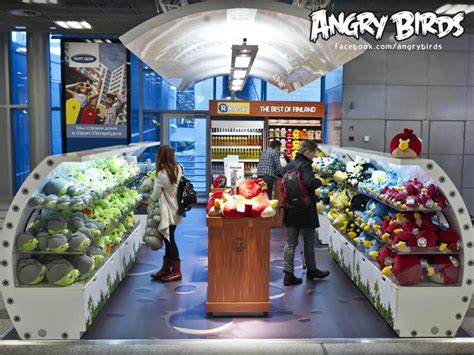 angry birds land in finland s largest airport