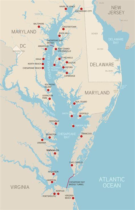 maryland bay map opinions on chesapeake bay