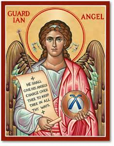 icons of the holy angels guardian angel icon monastery icons