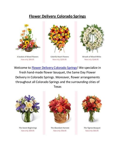 Same Day Flower Delivery by Same Day Flower Delivery In Colorado Springs Co