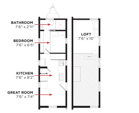 tumbleweed tiny house floor plans tumbleweed tiny house plans free floor plan and