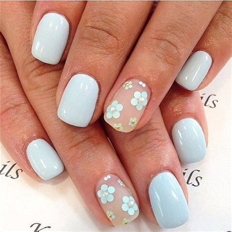 How To Do Simple Flower Nail Designs