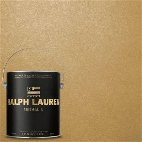 Metallic Gold Interior Paint by Ralph 1 Gal Golden Buttermilk Gold Metallic Specialty Finish Interior Paint Me133 At The