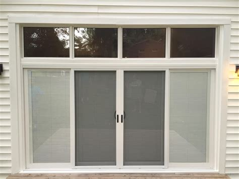 sliding patio door replacement fixed panel door transoms 5400 patio doors are available in 2 panel