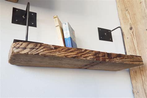 mensole in ferro mensola in legno di recupero e ferro xt men002 mobili