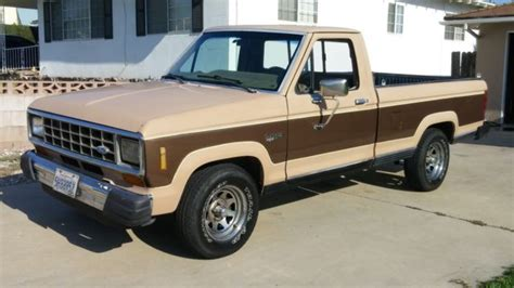 auto air conditioning repair 1984 ford ranger electronic throttle control clean rustfree v6 xlt long bed california truck no reserve auction classic ford ranger 1984