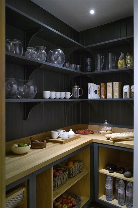 kitchen in a closet roundhouse bespoke walk in larder roundhouse pantries