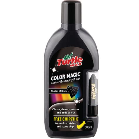 turtle wax color magic turtle wax color magic black colour 500ml