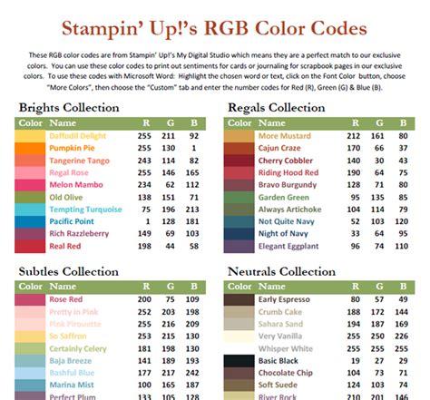 rgb color list rgb color code list images