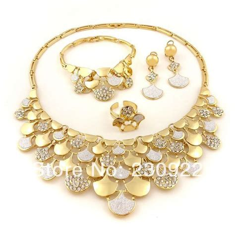 Dubai Gold Necklace Sets   ANDINO JEWELLERY