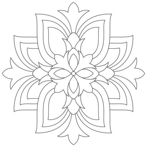 fior di loto disegno disegno di mandala con fiori di loto da colorare disegni