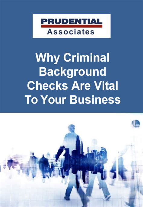 Prudential Background Check Ebooks Prudential Associates