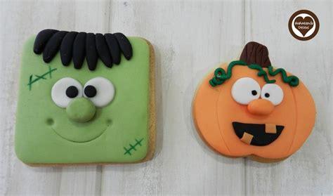 imagenes galletas halloween 187 mejores im 225 genes sobre galletas fondant en pinterest