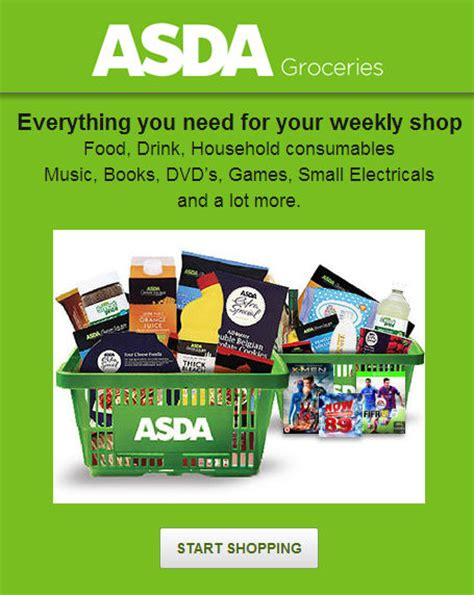 Use Asda Gift Card Online - making it easier to shop
