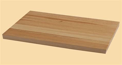 custom size white oak butcher block prefinished quote and order online