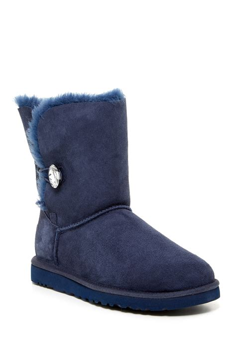 ugg shoes nordstrom ugg australia bailey button bling genuine shearling boot
