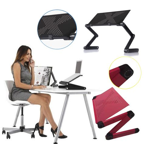Portable Gaming Desk Portable Folding Laptop Computer Notebook Table Laptop Stand Desk Bed Tray Bs Ebay