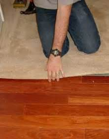 Installing Hardwood Floors Next To Existing Hardwood Installing Carpet Against Hardwood Floors Step By Step With Photos