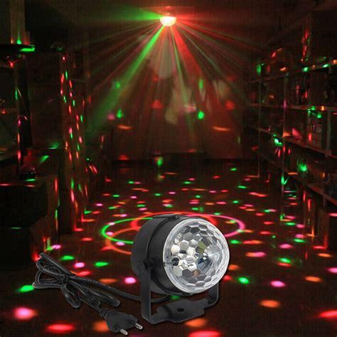 Led Disco Light Bulb 2016 3w Mini Rgb Led Magic Stage Light Effect Bulb Disco Light Dj Lights Show Us Eu