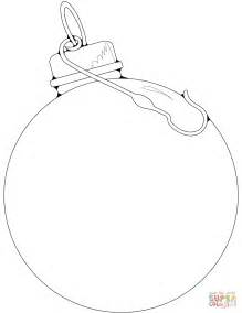 Coloring Pages For Ornaments by Blank Ornament Coloring Page Free Printable