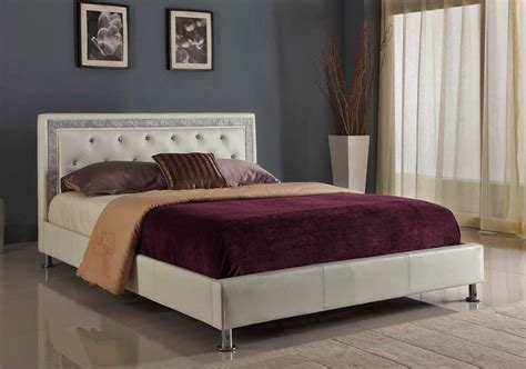 tufted leather bed agnes modern tufted leather bed