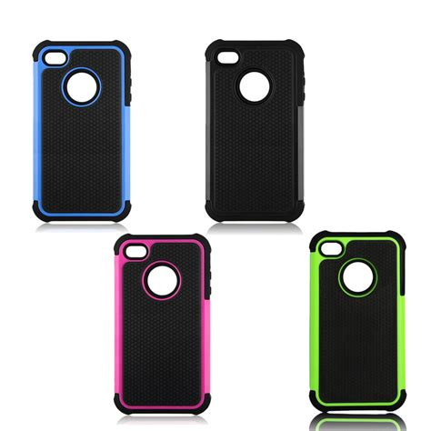 rugged iphone 4 for iphone 4 4s black rugged rubber matte cover w screen protect ke ebay