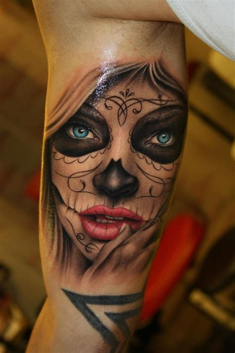 The beautiful La Catrina Tattoo and its meaning
