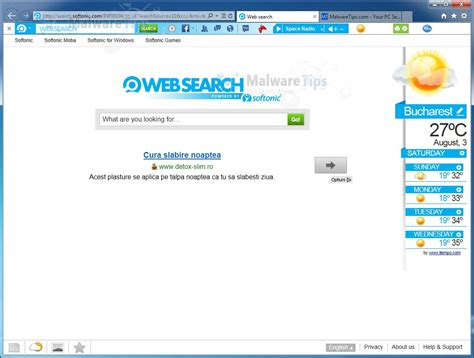 Web Search Remove Softonic Web Search Hijack Removal Guide