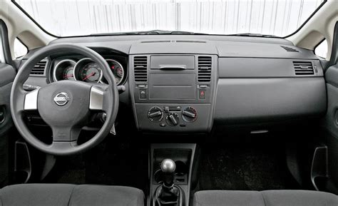 nissan tiida interior 2009 car and driver