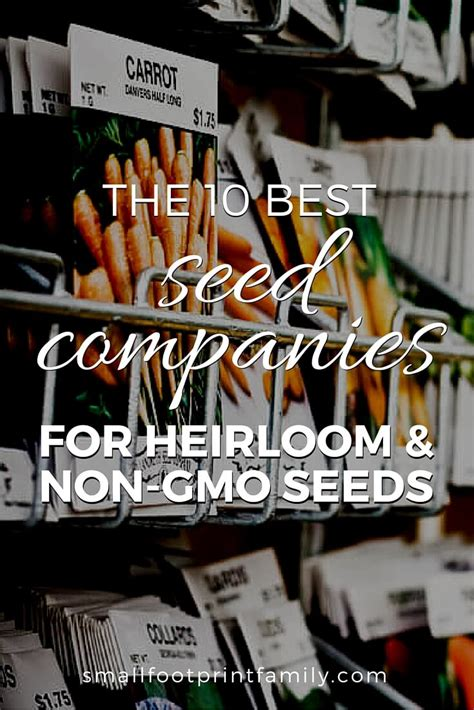 best heirloom seeds the 10 best seed companies for heirloom and non gmo seeds