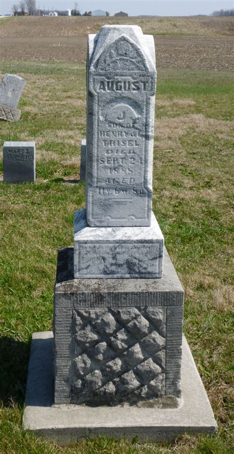 Mercer County Pa Birth Records Tombstone Tuesday August J Trisel 187 S Chatt