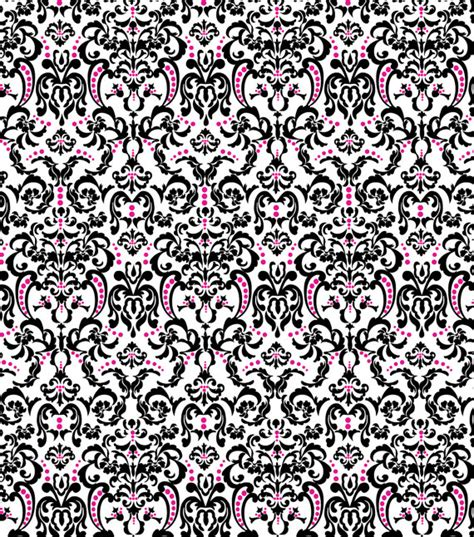 pink damask upholstery fabric damask black and pink fabric bty by prettypeacockplume on etsy