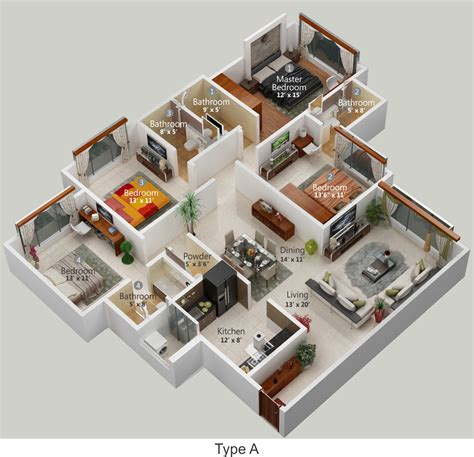 Multi Family Homes Plans flats in hiranandani powai chandivali andheri east