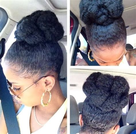High Bun Hairstyles For Black Hair by 50 Updo Hairstyles For Black Ranging From To