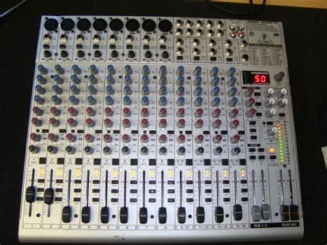 Mixer Behringer Ub2222fx behringer eurorack ub2222fx pro image 494219 audiofanzine