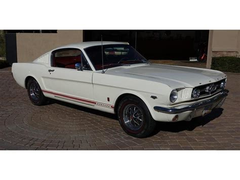 mustang fastback 1965 for sale 1965 quot k quot code fastback for sale