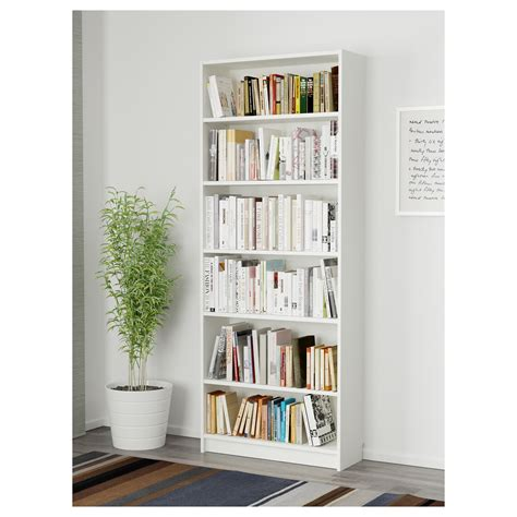 Billy Bookcase White 80x28x202 Cm Ikea Ikea Bookcase White