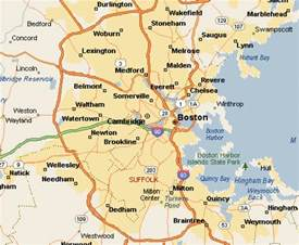 Map Of Boston Suburbs by Map Of Boston You Can See A Map Of Many Places On The