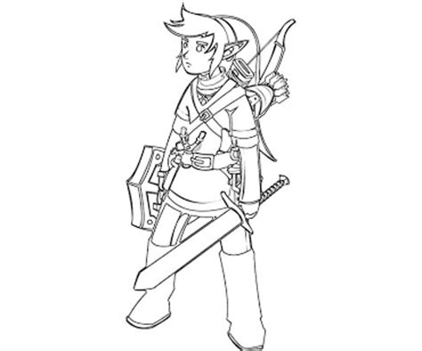 link page7 10 link coloring page