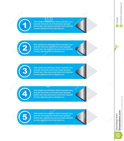 visual communication design ranking infographic design for product ranking stock image image
