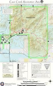 map of creek arizona cave creek recreation hiking arizona hikearizona