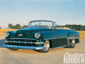 1954 chevrolet bel air convertible side photo 2