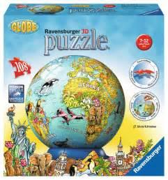 puzzle mit beleuchtung kindererde in deutscher sprache 3d puzzle b 228 lle 3d