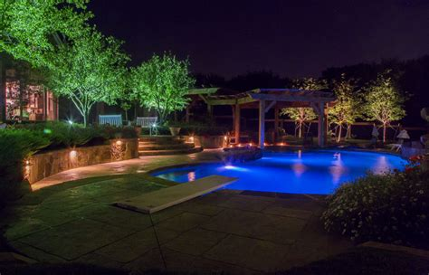 Landscape Lighting Plano Plano Outdoor Lighting Dallas Landscape Lighting