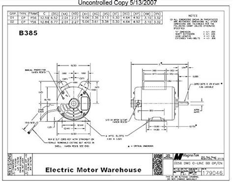 magnetek universal electric motor wiring diagram 48